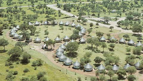 Südafrika Krüger National Park Satara Rest Camp Lage Iwanowskis Reisen - afrika.de
