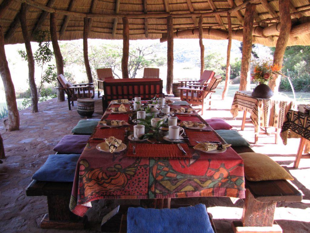 Südafrika Limpopo Sigurwana Lodge Restaurant Iwanowskis Reisen - afrika.de
