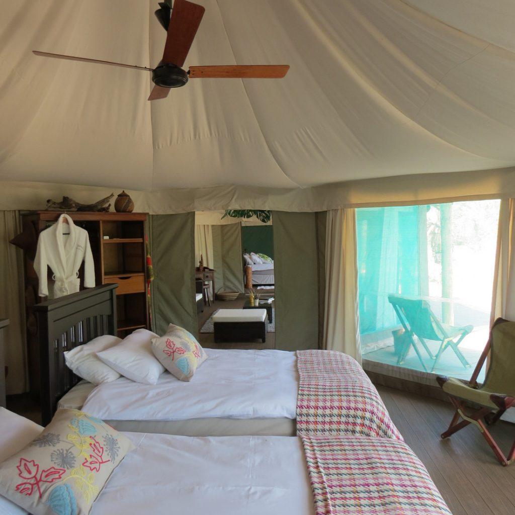 Südafrika Limpopo Sigurwana Lodge Safarizelt Iwanowskis Reisen - afrika.de