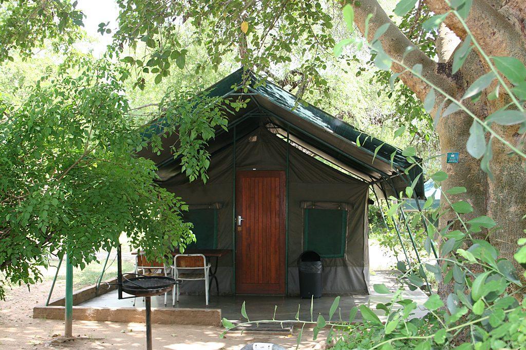 Südafrika Krüger Nationalpark Skukuza Camp Safarizelt Iwanowskis Reisen - afrika.de
