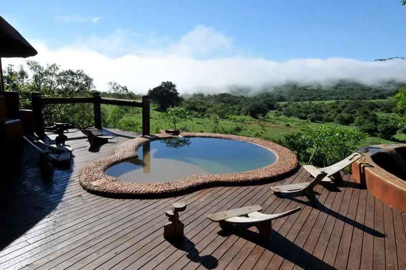 Südafrika Leshiba Wilderness Venda Village Lodge Pool