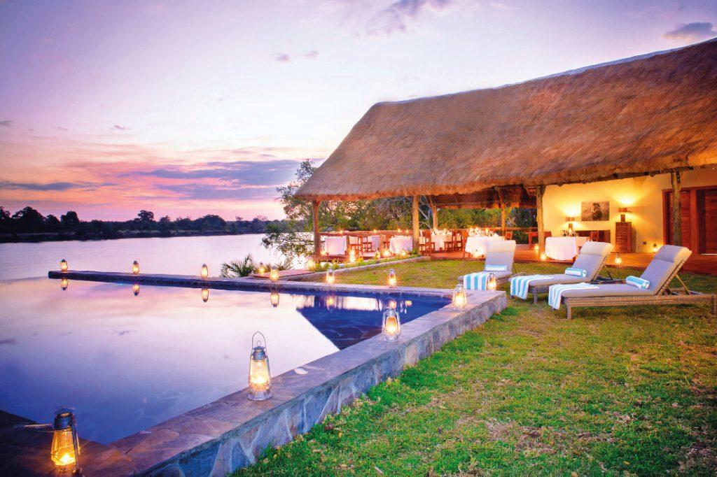 Sambia Kafue National Park Ila Safari Lodge Iwanowskis Reisen - afrika.de
