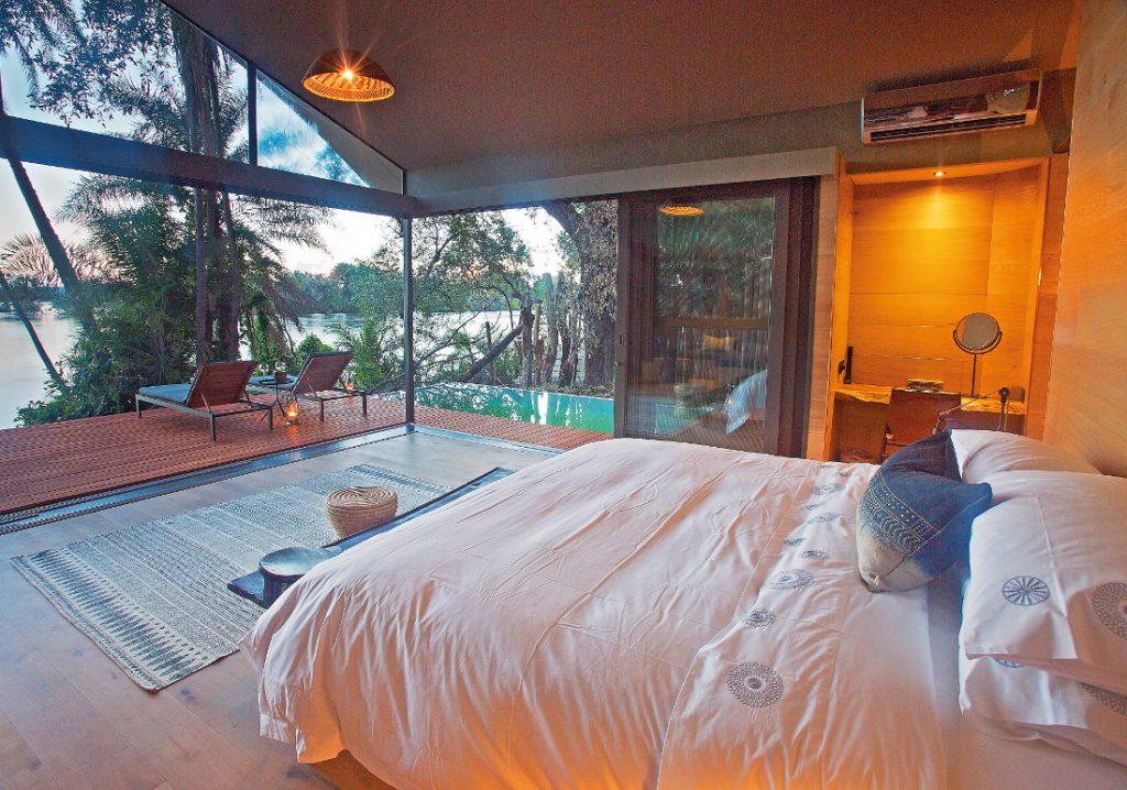 Sambia Livingstone Thorntree River Lodge Unterkunft Iwanowskis Reisen - afrika.de
