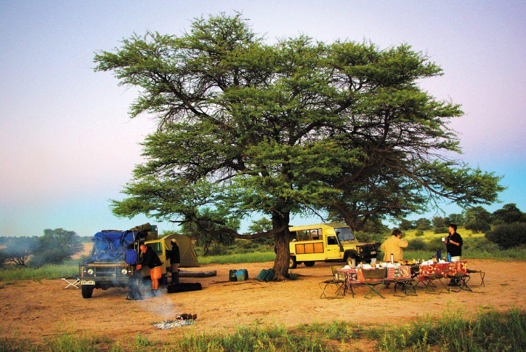 Sambia Campingsafari Ost nach West Campinglager Iwanowskis Reisen - afrika.de