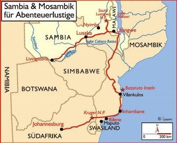 Sambia und Mosambik für Abenteuerlustige Iwanowskis Reisen - afrika.de