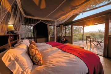 Sambia Busanga Bush Camp Zimmeransicht Iwanowskis Reisen - afrika.de