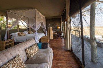 Sambia Shumba Camp Zimmeransicht Iwanowskis Reisen - afrika.de