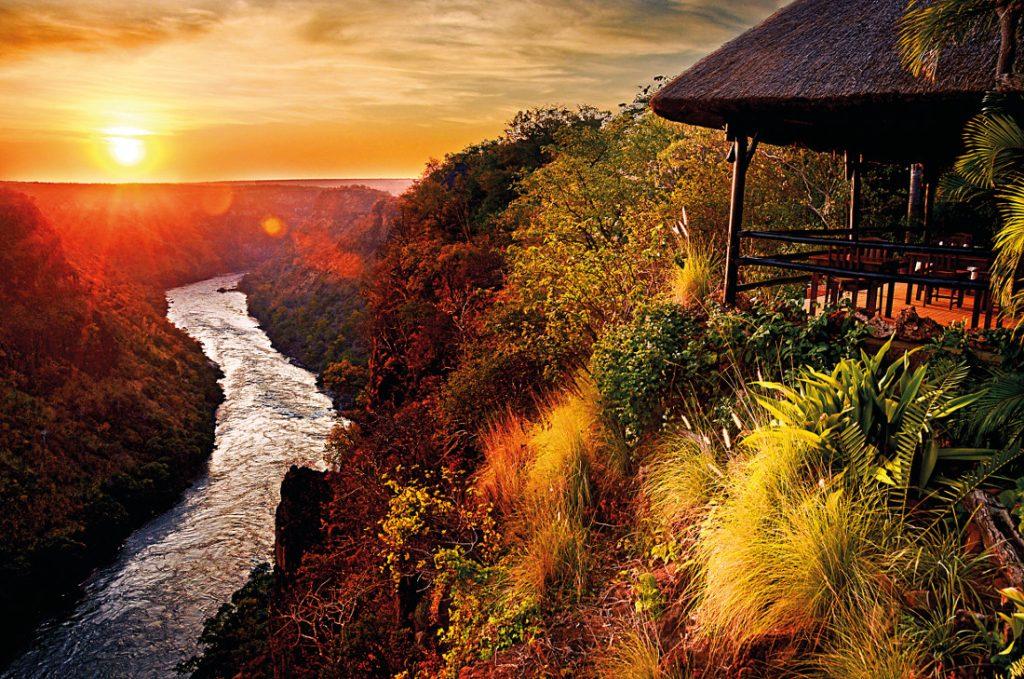 Simbabwe Victoria Falls Gorges Lodge Iwanowskis Reisen - afrika.de