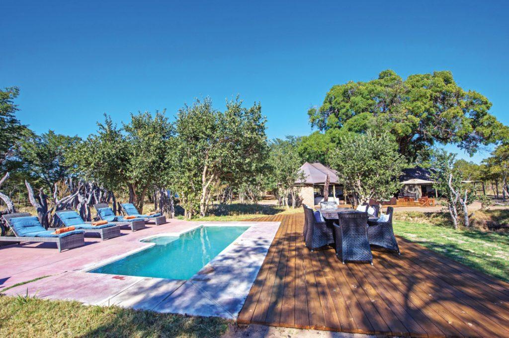 Simbabwe Hwange National Park Little Makalolo Pool Iwanowskis Reisen - afrika.de