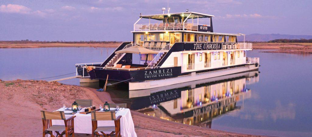 Simbabwe Lake Kariba Umbozha Houseboats Iwanowskis Reisen - afrika.de
