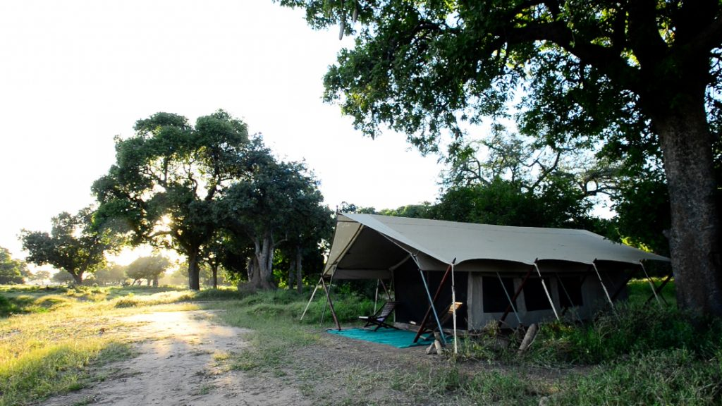 Simbabwe Mana Pools National Park Zambezi Expedions Camp Iwanowskis Reisen - afrika.de