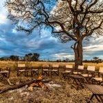 Tansania Serengeti Ang'ata Serengeti Camp Feuerstelle Iwanowskis Reisen - afrika.de
