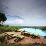 Tansania Lake Manyara Serena Lodge Pool Iwanowskis Reisen - afrika.de