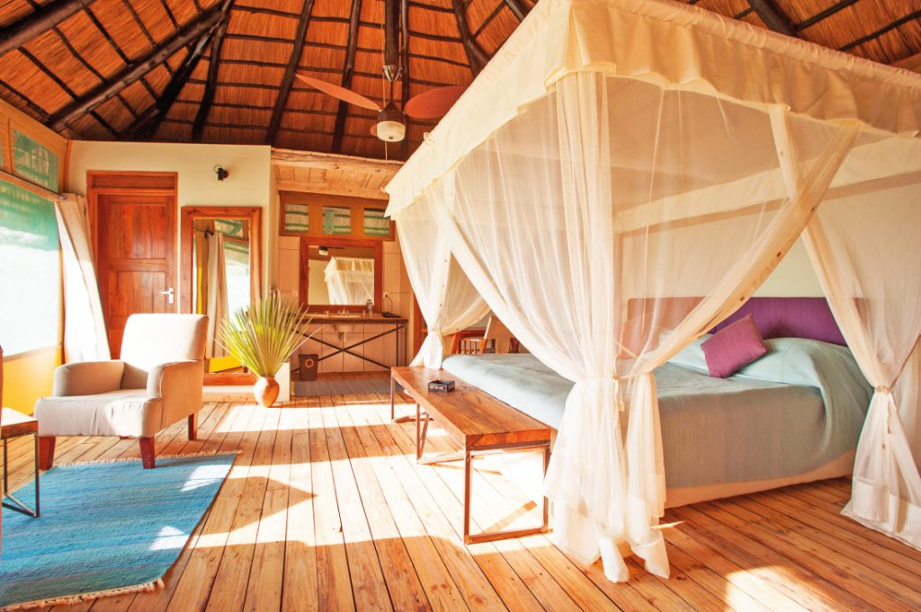 Tansania Tarangire National Park Maramboi Tented Camp Zimmer Iwanowskis Reisen - afrika.de