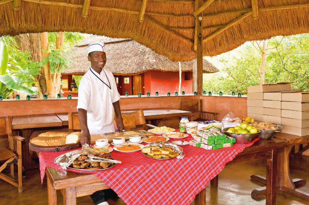 Tansania Ngorongoro National Park Ngorongoro Farmhouse Frühstück Iwanowskis Reisen - afrika.de