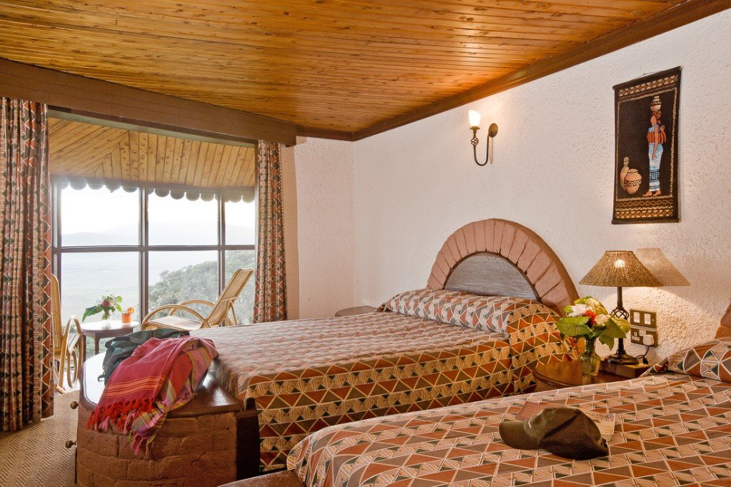 Tansania Ngorongoro Sopa Lodge Zimmer Iwanowskis Reisen - afrika.de