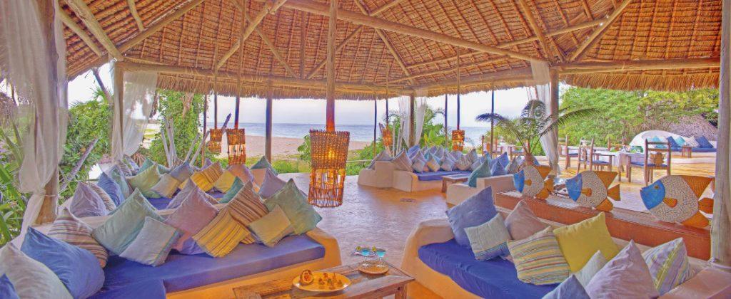Tansania Swahili Coast Ras Kutani Lounge Iwanowskis Reisen - afrika.de