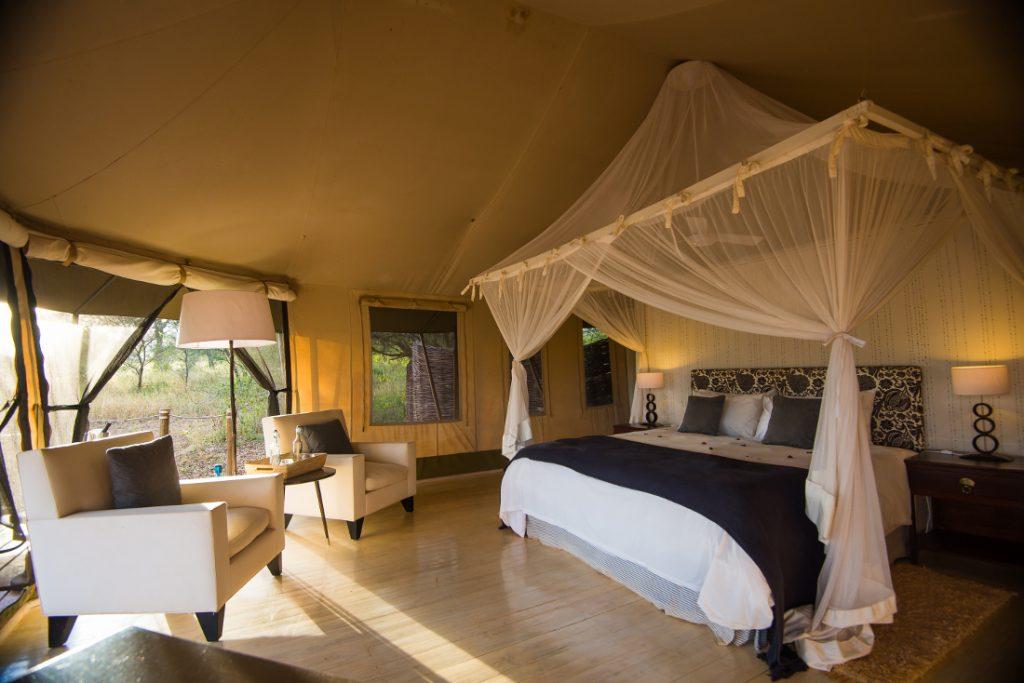 Tansania Tarangire National Park Sanctuary Swala Tented Camp Unterkunft Iwanowskis Reisen - afrika.de