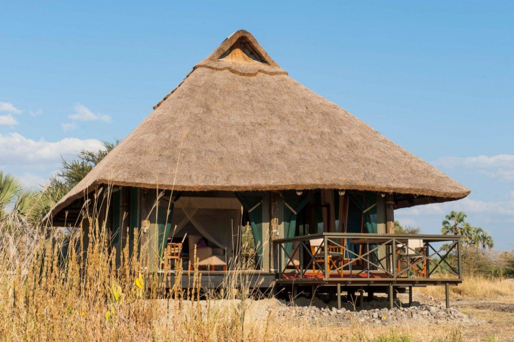 Tansania Maramboi Tented Camp Unterkunft Iwanowskis Reisen - afrika.de