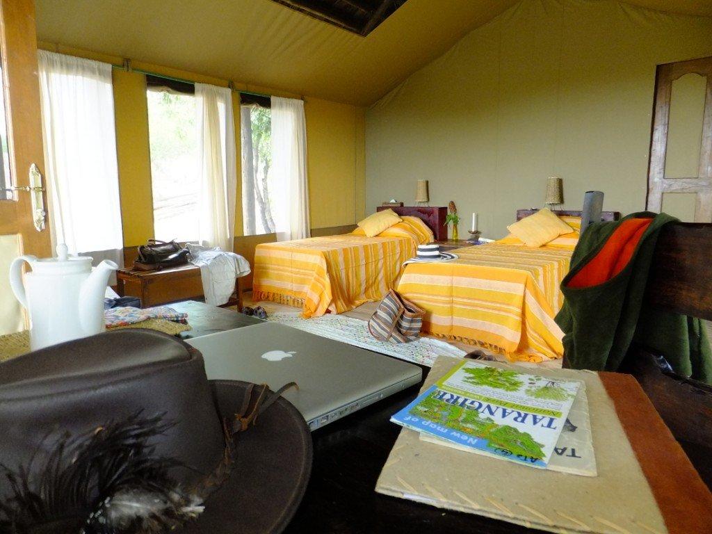 Tansania Sangaiwe Tented Camp Zeltunterkunft Iwanowskis Reisen - afrika.de