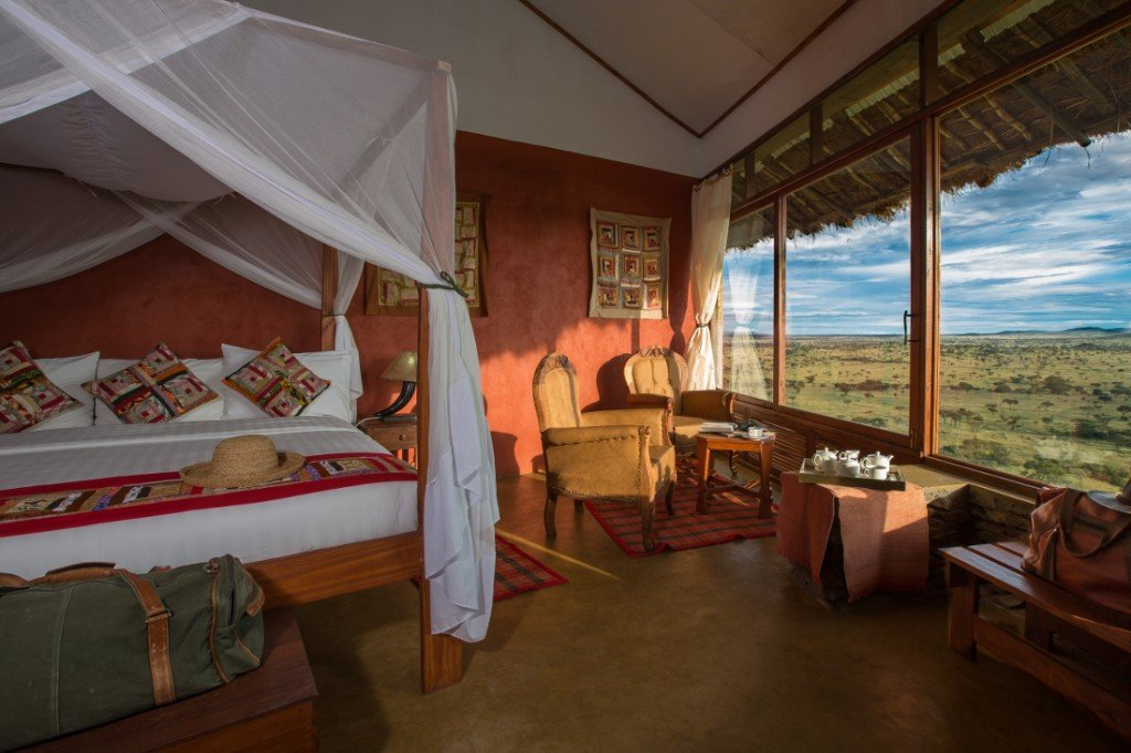 Tansania Serengeti Simba Lodge Unterkunft Iwanowskis Reisen - afrika.de