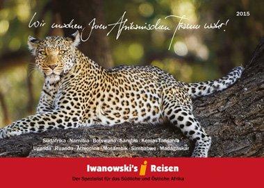 Der neue Afrika-Reisen Katalog 2015