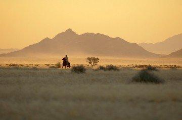 Blicj auf die Dünen der Namib-Wüste