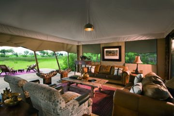 Duba Expeditions Camp Lounge - afrika.de