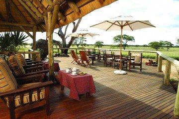 Namibia, Frans Indongo Lodge, Terrasse - afrika.de