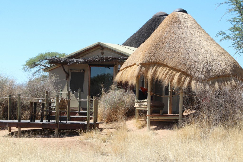 Kalahari Red Dunes Lodge in Namibia