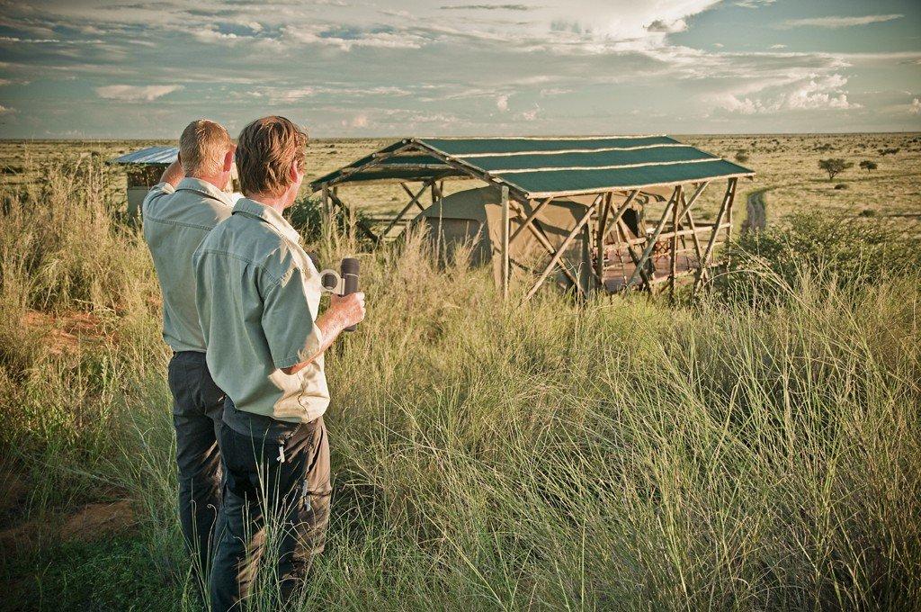Namibia Kalahari Teufelskrallen Tented Lodge Iwanowski's Reisen - afrika.de