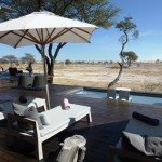Namibia, Onguma Game Reserve, The Fort, Pool - afrika.de