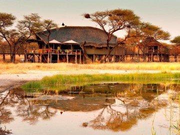 Namibia, Onguma Game Reserve, Tree Top Camp, Außenansicht - afrika.de