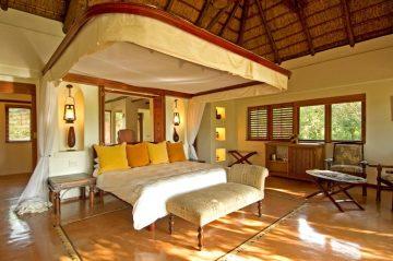 Sanctuary Chobe Chilwero Lodge Zimmer - afrika.de Iwanowskis Individuelles Reisen