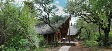 Black Rhino Game Lodge draußen