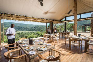 Kariega Game Reserve - Settlers Drift - Frühstück
