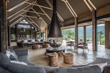 Kariega Game Reserve - Settlers Drift - Loungebereich
