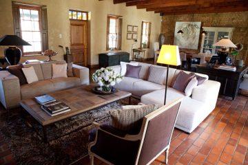 Avondrood Rezeption und Lounge