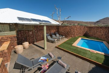 Etendeka Mountain Camp Pool