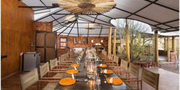Etendeka Mountain Camp Restaurant