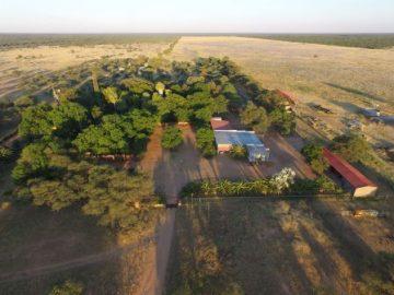 Namibia Hamakari Luftaufnahme