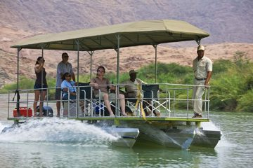 Okahirongo River Camp Bootsfahrt