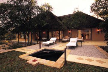 Villa Mushara von außen
