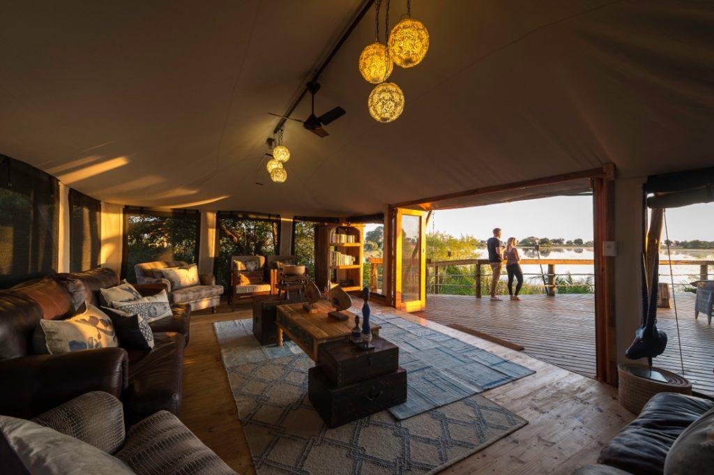 Pelo Camp Lounge - afrika.de Iwanowskis Individuelles Reisen