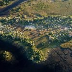 Pelo Camp Luftansicht - afrika.de Iwanowskis Individuelles Reisen