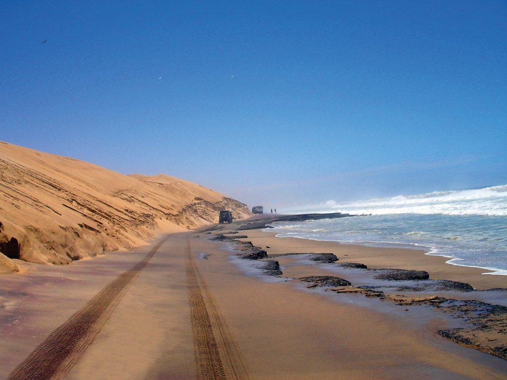 Namibia Swakopmund Sandwich Harbour Tour Ausflug Iwanowskis Reisen - afrika.de