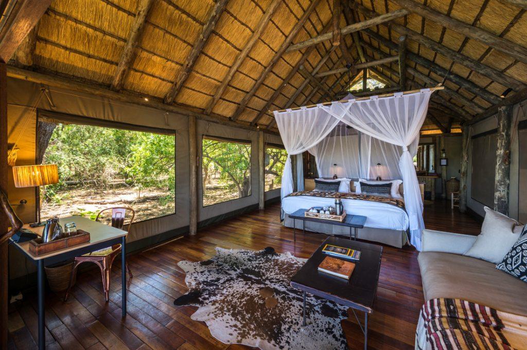 Botswana Linyanti Savute Wilderness Safaris Savuti Camp Safarizelt Iwanowskis Reisen - afrika.de