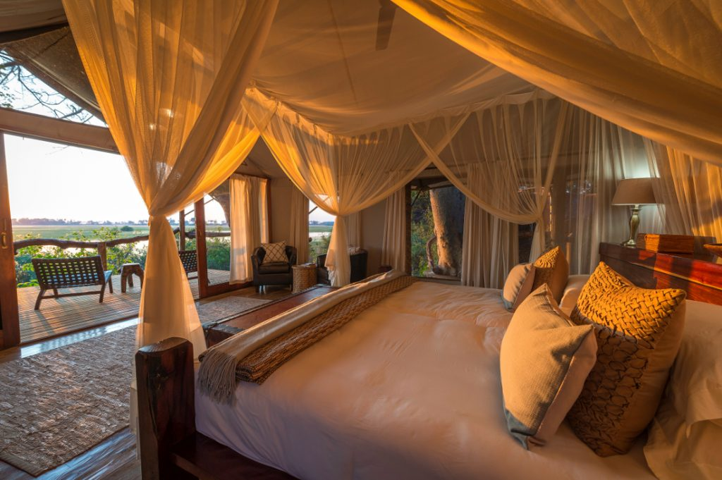 Botswana Okavango Delta Wilderness Safaris Tubu Tree Camp Safarizelt Iwanowskis Reisen - afrika.de