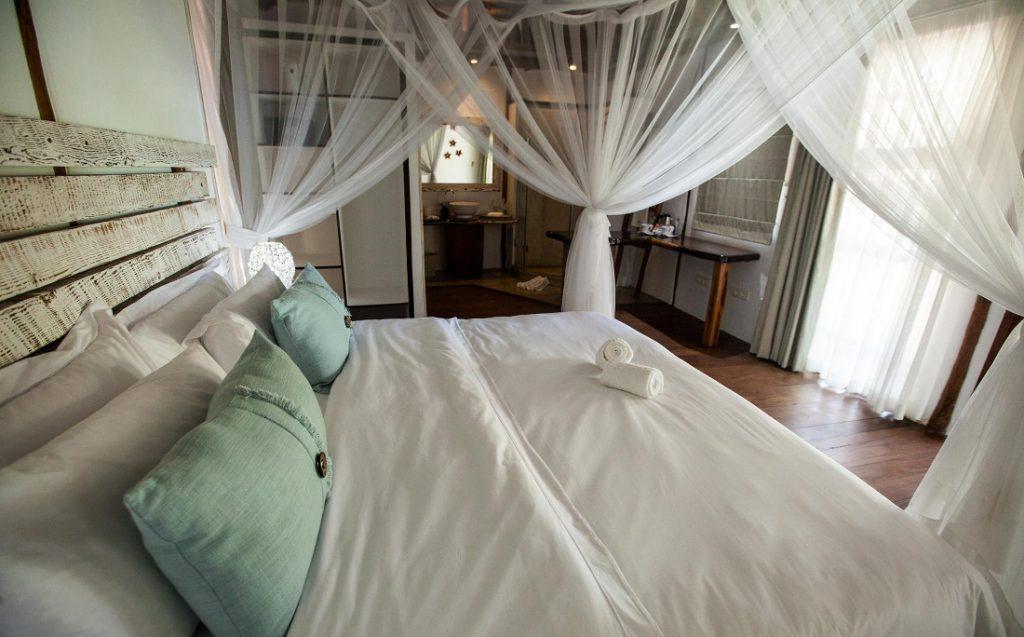 Mosambik Vilanculos Beach Lodge Zimmer Iwanowskis - afrika.de