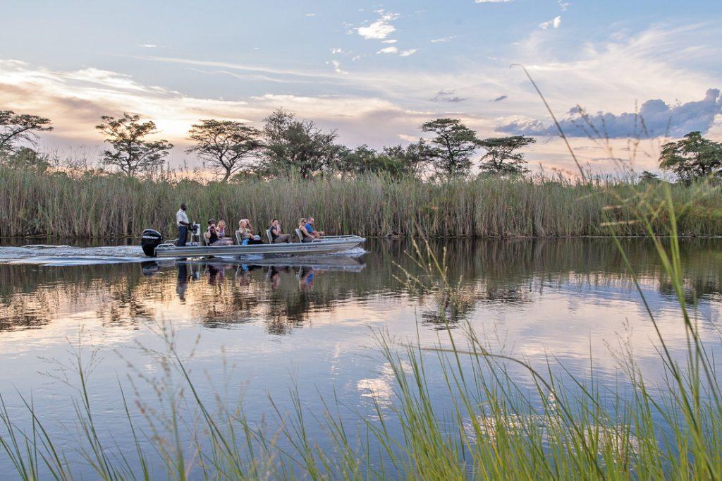 Namibia Caprivi Bootsfahrt Sambesi Sunway Safari Iwanowskis Reisen - afrika.de
